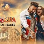 """""""Tamasha"""" (Official Poster)  There is something about this pair – though they have different partners in real life but put them in one frame & you can feel the magic!"""