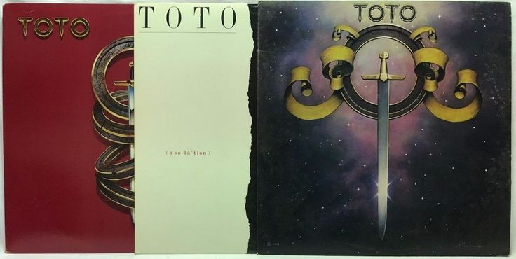 Toto LP #Vinyl #Records Lot: Self Titled + IV + Isolation