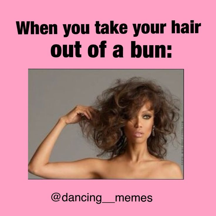 then there are those other girls who's hair is perfect after the take it out of a bun. but im the girl who looks like someone from the 70s