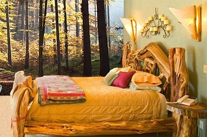 Article on forest themed bedroom