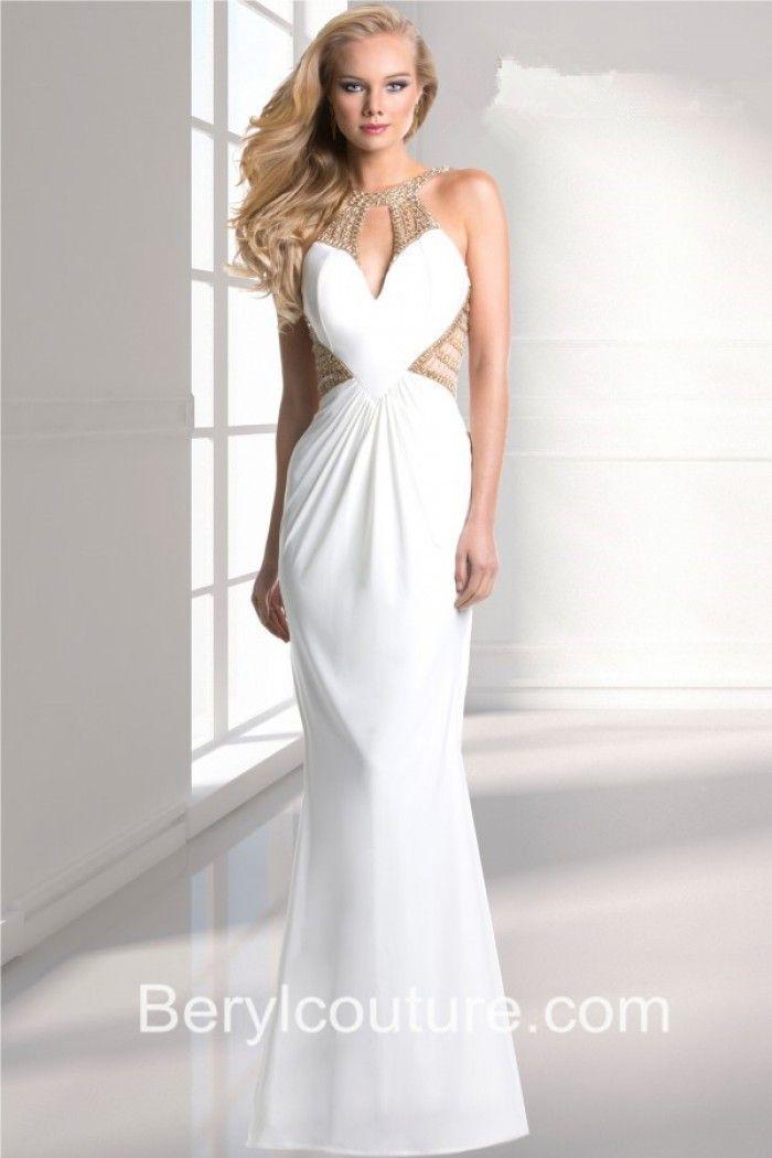 170 besten White Prom Dresses Bilder auf Pinterest | Weiße ...