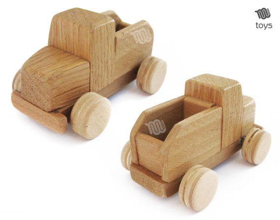 Mini-Truck - natürliche Holz Spielzeug