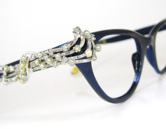 Rare Vintage Musical Note Cat Eye Eyeglasses by Vintage50sEyewear #ZENNIFASHIONCHALLENGE