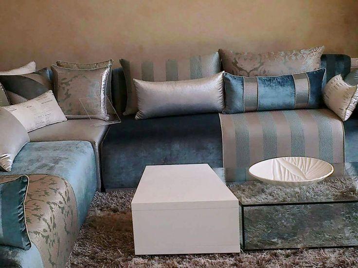 17 meilleures id es propos de tissu salon marocain sur pinterest tissu pour salon marocain for Model esalon moderne marocain