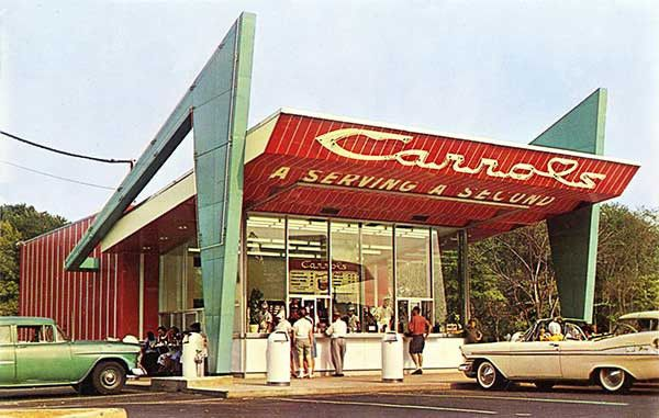 Reading PA Hamburger Carrols Drive in.  I absolutely adored this place.