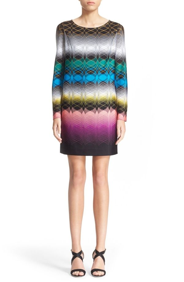 Buy Missoni Bateau Neck Knit Shift Dress by Ermintrude