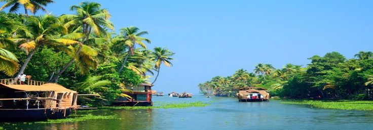 Book Your Short #Kerala 4N/5D #TourPackage from #TourOperator in Delhi starting from @INR13499pp, Escape from your busy Schedule and visit the mesmerizing #Munnar and #Thekkady, the two of the most #beautiful hill stations of South India. Admire the #beauty of silvery white reflection of the moon on the #backwaters of #Alleppey, while you relax and revel in the #houseboat