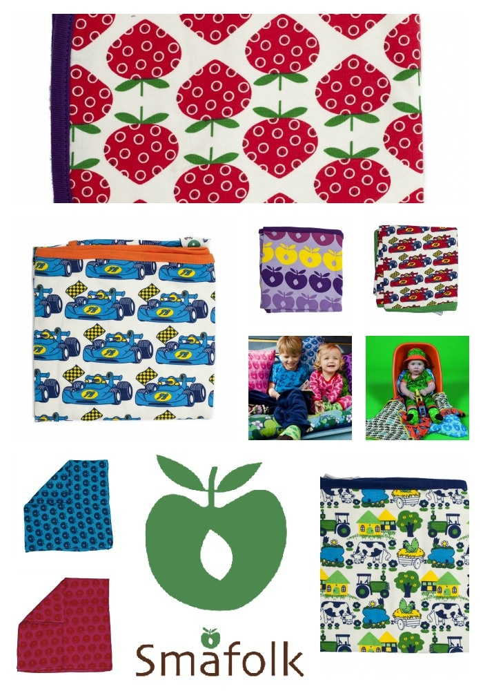 Smafolk Danish colourful Kids textile