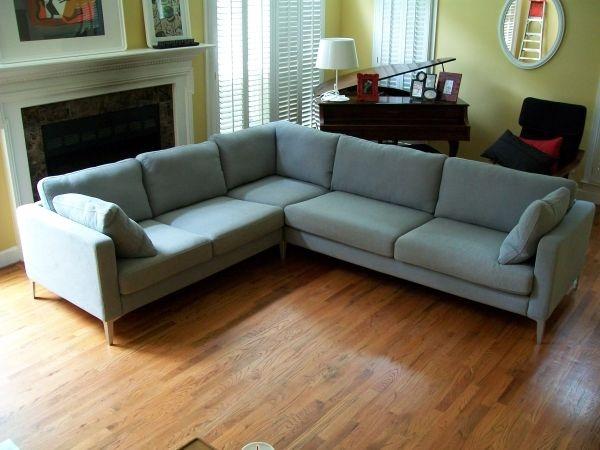 Incroyable Mid Century Modern Corner Sofa