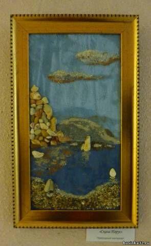 Выставка. Мастер, Вьюшкина-Данилевская. Картины из ракушек.. - Форум Бусинки
