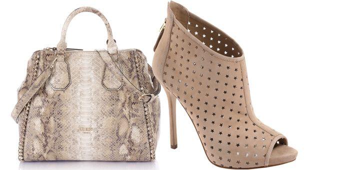 Abiti, borse e scarpe....delicati e sensuali. La donna Guess per quest'estate è una Musa del Rock dal look eclettico e glamour.http://www.sfilate.it/223137/colori-tenui-per-romanticismo-rock-glamour-guess