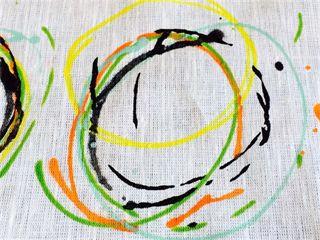 Gardin Karusell svart - - Lena Orange