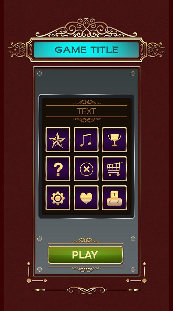 Game UI Mockup