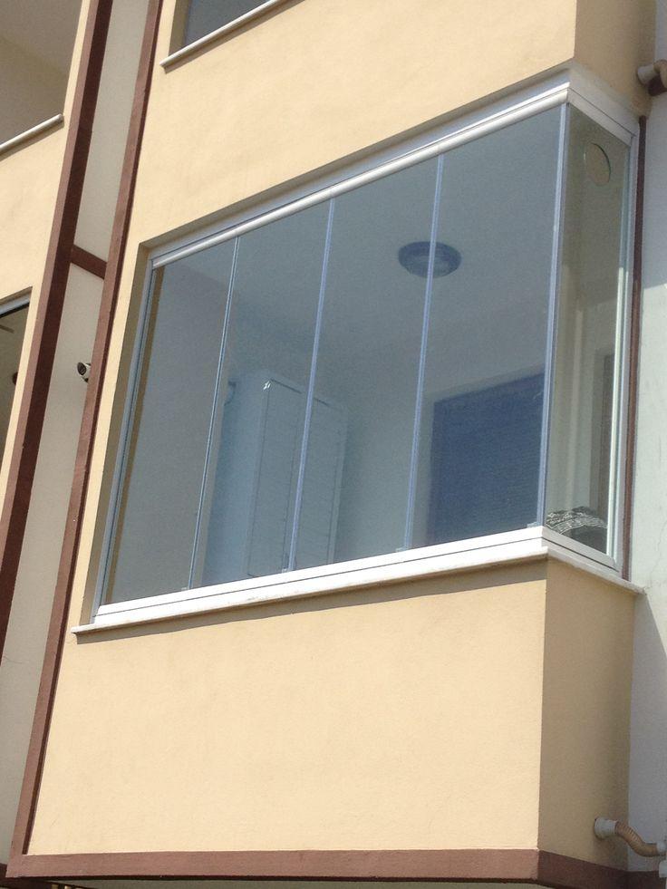 Mıknatıslı cam balkon çalışmamız.