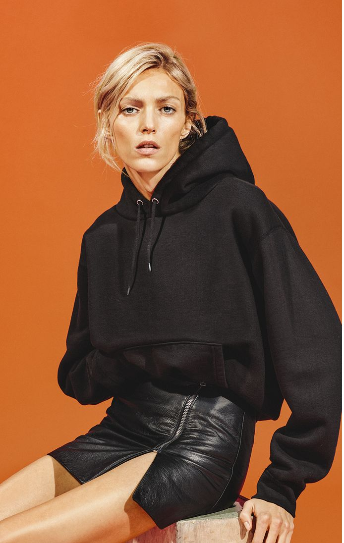 "fashiion-gone-rouge: "" Anja Rubik for Iro shot by Collier Schorr """