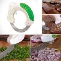 Wish   Kitchen Multi Rolling Sharp Knife Food Vegetable Chopper Cutter Slicer Dicer