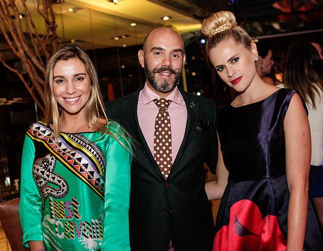 Daniela Urrizola, Fred Redondo y Eliana Albasetti.