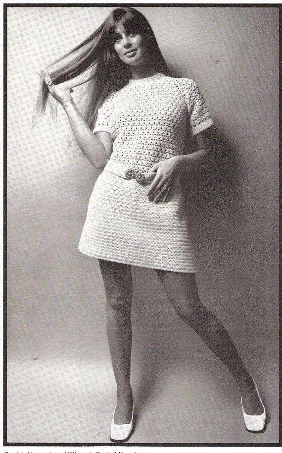 DRESS  Short Sleeve Crochet Dress Pattern by suerock on Etsy, $3.99
