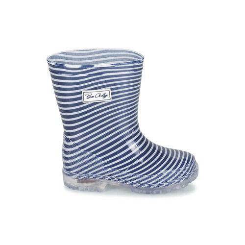 Topánky Deti Čižmy do dažďa Be Only MARINO Námornícka modrá