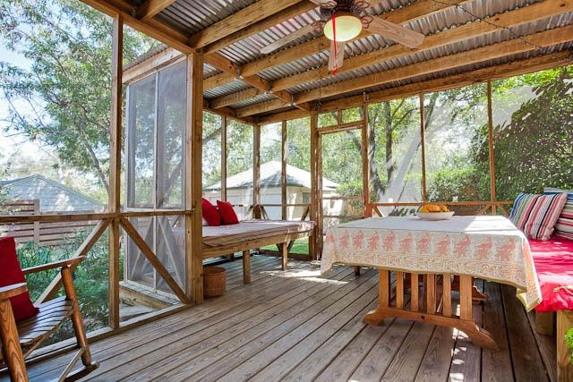 Gorgeous Outdoor Living Space This Screened In Porch