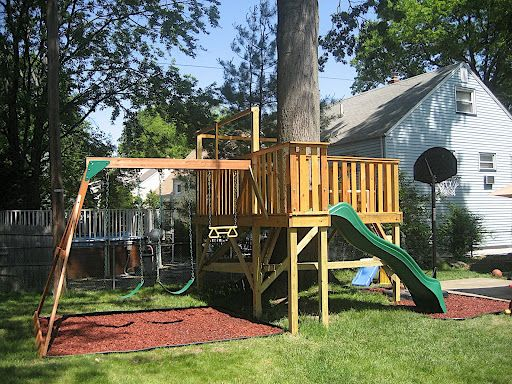 Playset Ideas Backyard find this pin and more on landscape backyard Find This Pin And More On Playset Ideas