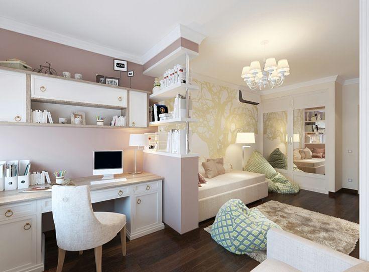 Jugendzimmer weiß gestalten für Mädchen & Jungs   Ideen für Farbkombis & Gestaltung   Zimmer ...
