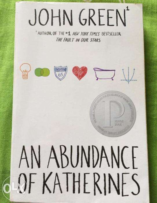 An Abundance Of Katherines By John Green Novel Books For Sale Philippines