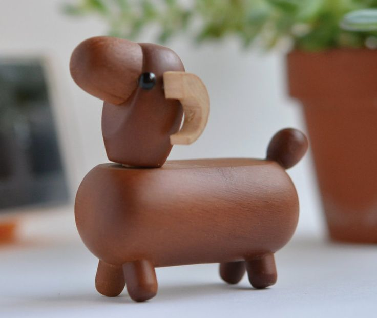A Vintage Japanese Authentic Wooden Sheep by MinimalismOnline