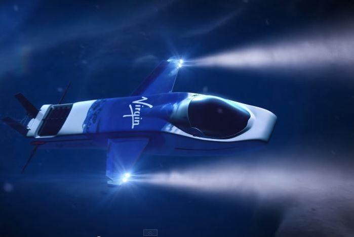 Virgin Oceanic tengeralattjárója / Virgin Oceanic's #submarine Forrás/source: www.youtube.com Szerző/creater: Virgin Oceanic