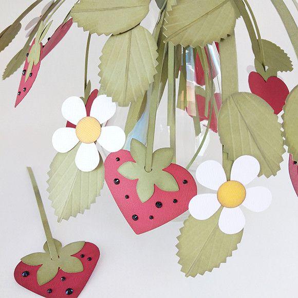Aardbeienplantjes Van Papier Paper Crafting Knutselen Decoratie
