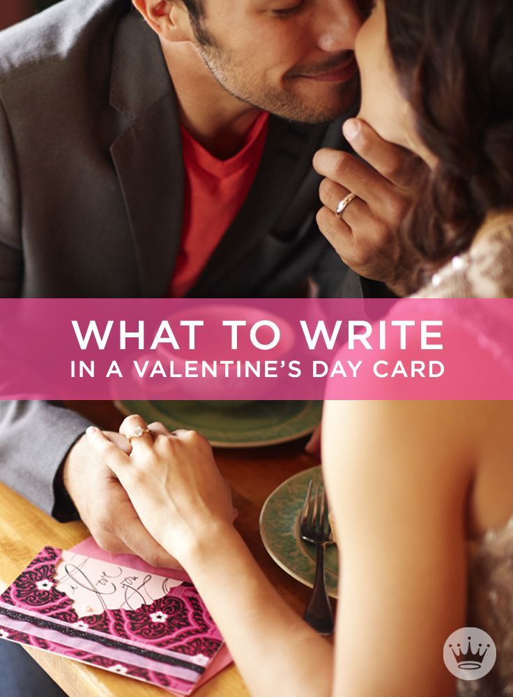 Valentine Messages: What to Write in a Valentine's Day Card | Stuck on what to write? Try these ideas from Hallmark card writers! Includes more than 50 Valentine's Day wishes, plus writing tips to help you find just the right loving words. #Hallmark #HallmarkIdeas #WhatToWriteInACard