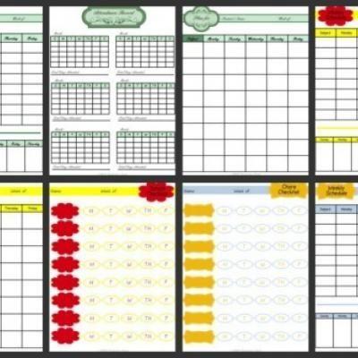 Best Homeschool Planners  Homeschool Schedules Images On