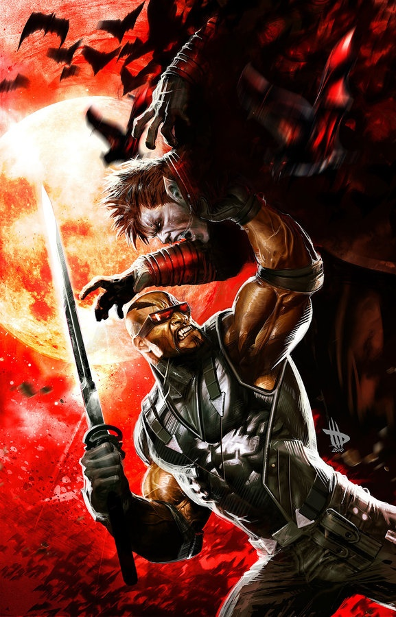 Blade by Dave Wilkins (Marvel comics)
