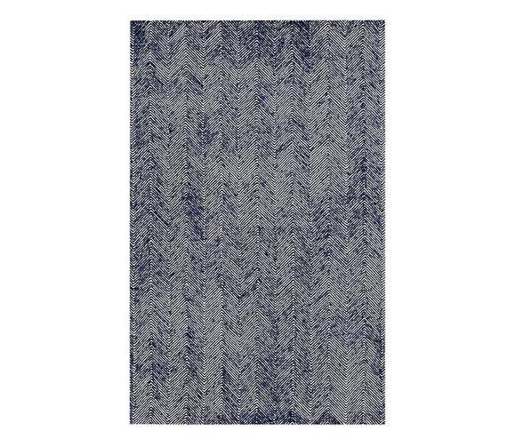 100 Authentic Zig Zag Herringbonez Strip Rug Blue Pink Grey Etsy In 2020 Herringbone Rug Rugs Machine Washable Rugs