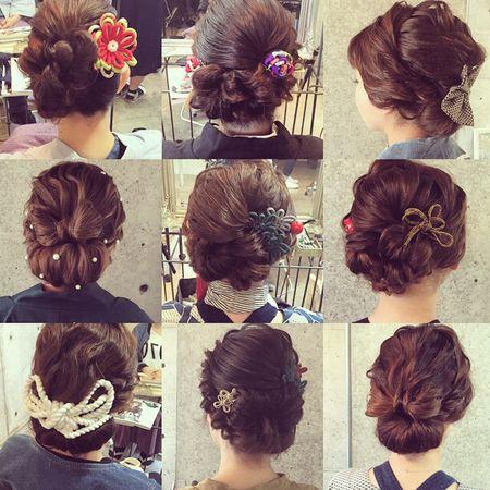 マリ 浜松祭り 髪型 l 浜松市にある美容室 Brillant                                                                                                                                                                                 もっと見る