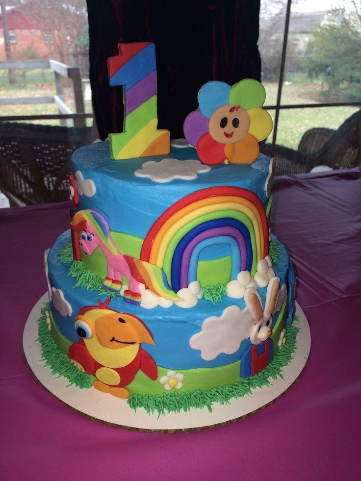 BabyFirstTV Birthday Cake