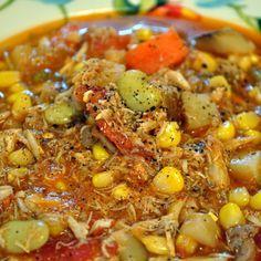 Soupe de crabes du Maryland