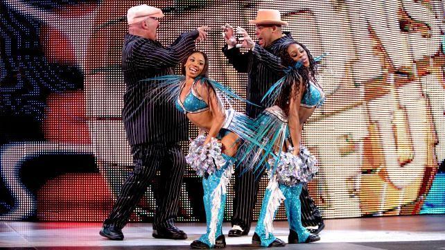 WWE.com: Tons of Funk & The Funkadactyls vs. Team Rhodes ...