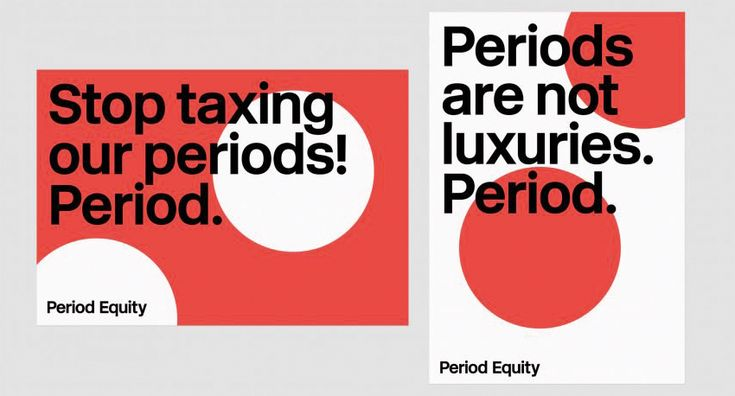 The problem with period product branding | Creative Bloq
