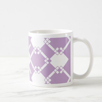 Abstract geometric pattern - purple. coffee mug - christmas mugs santa merry xmas