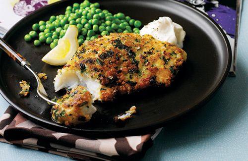 Crispy Herb-crumbed Fish Recipe on Yummly