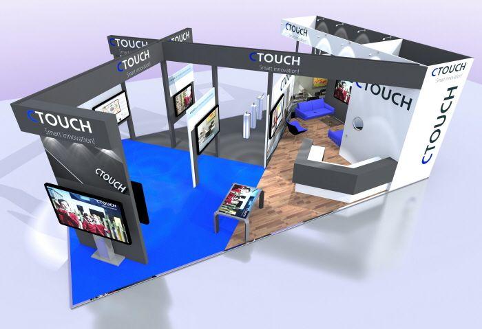 Custom Build Exhibition Stand Design - C-Touch by Jason Damon at Coroflot.com