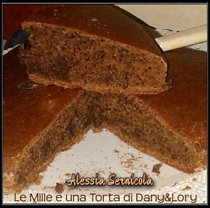 Cuore al caffè senza uova, burro e olio RICETTA DI: ALESSIA SERNICOLA INGREDIENTI: 350 ml di latte di mandorla 300 gr di farina 0