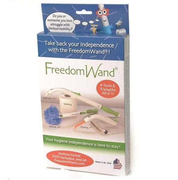 Freedom Wand Personal Hygiene Aid Master Kit Long Handle Toileting Aid Kit And Travel Bag Personal Hygiene Hygiene Medical Supplies