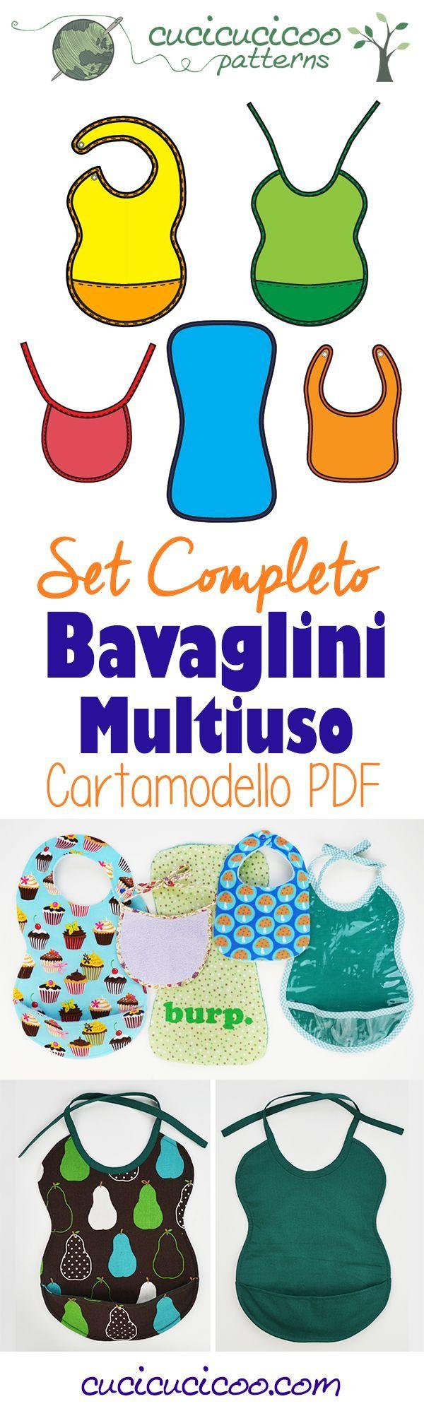 Oltre 25 fantastiche idee su bavaglini su pinterest for Cartamodello papillon