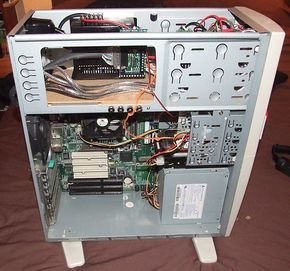 PC with CNC electronics installed - bit-tech.net Forums - View Single Post - Planning CNC router, laser cutter, or something?