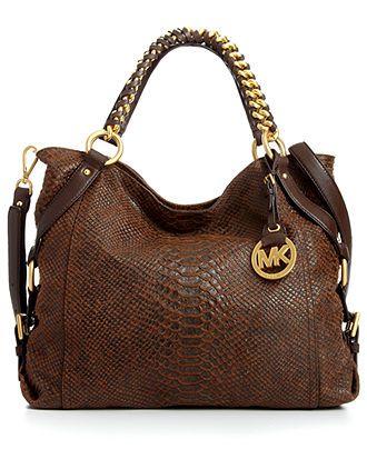 MICHAEL Michael Kors Handbag, Tristan Large Tote - Tote Bags - Handbags & Accessories - I love this!