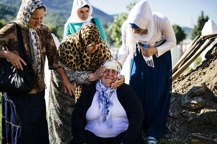 Srebrenica massacre anniversary - in pictures