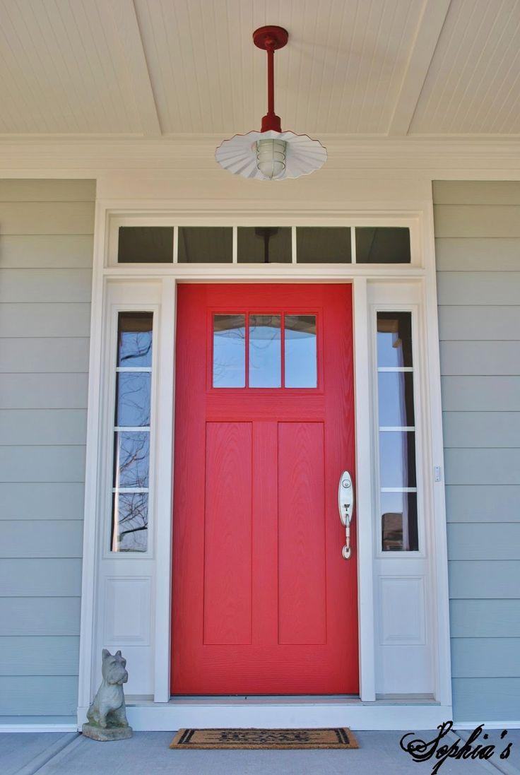 Red front doors for homes - Front Door Jpg 1073 1600