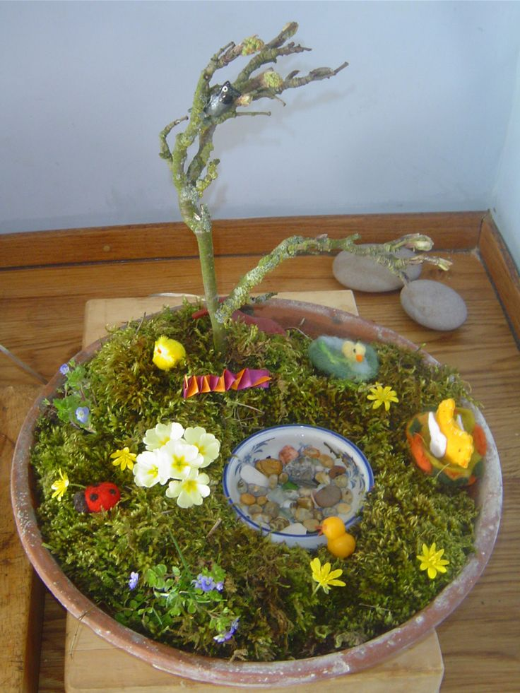 Amazing Easter Garden Craft Ideas Part - 8: Easter Garden | Easter | Pinterest | Easter Garden, Easter And Nature Table